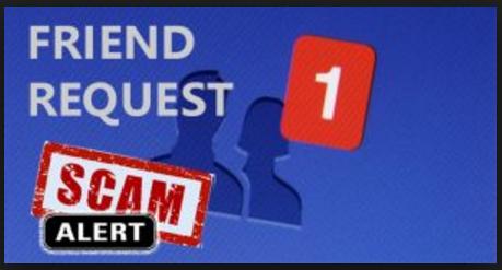 Facebook Scam Friend Request