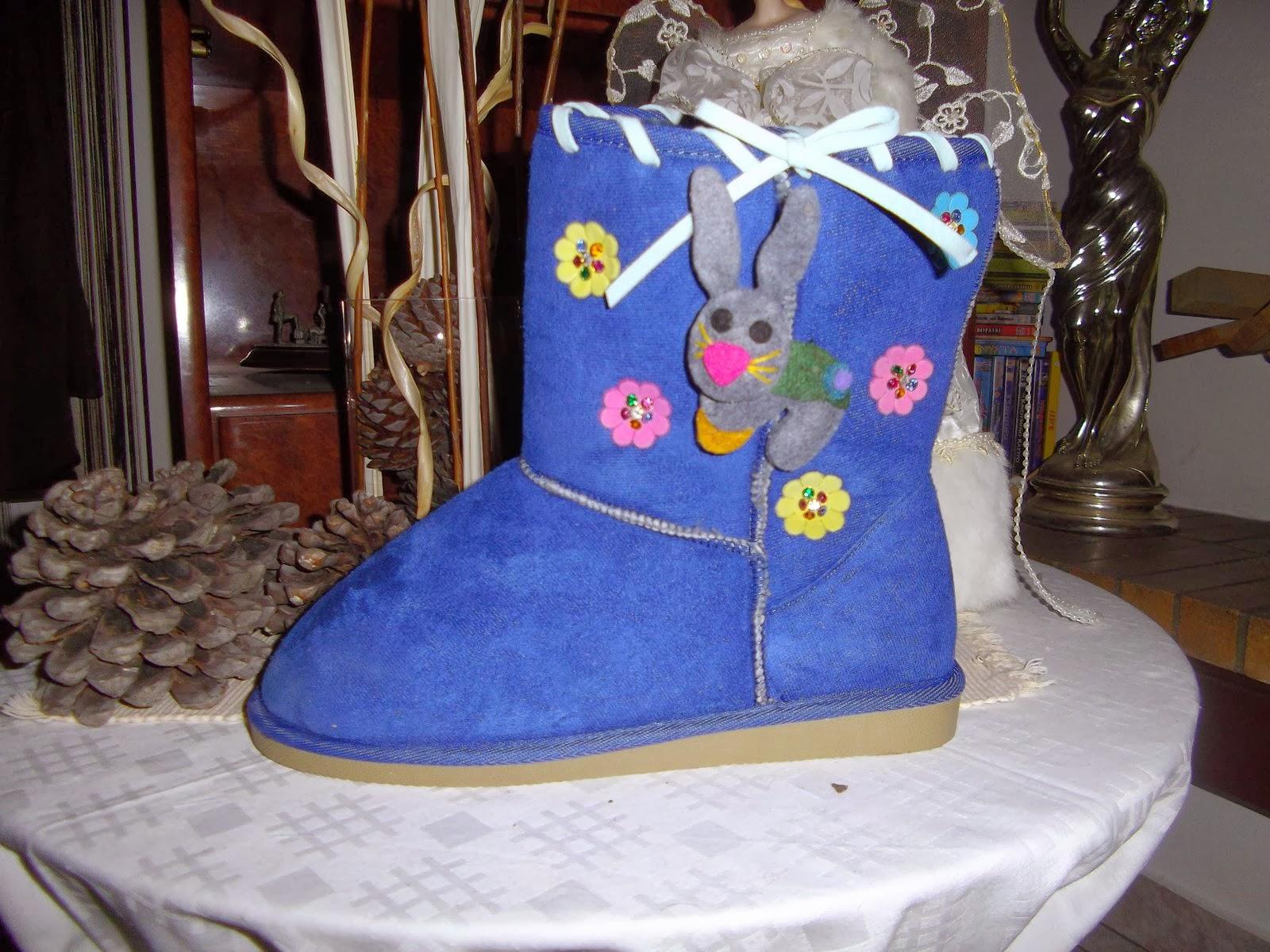 74ccaf5470a Παιδικές μπότες τύπου Ugg, διακοσμημένες με πολύ κέφι και χαρούμενη διάθεση!