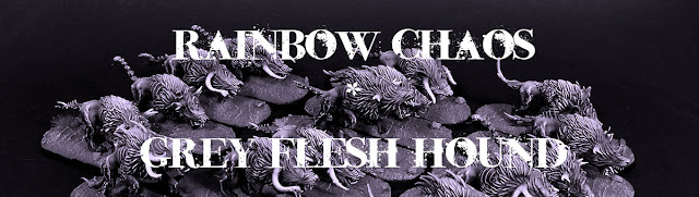 Rainbow Chaos - Grey Flesh Hound