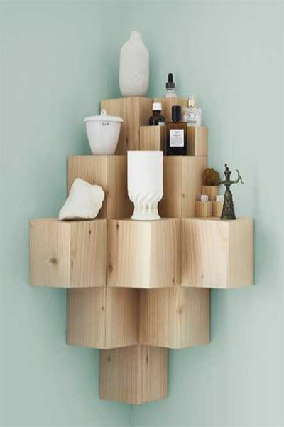 idée DIY pour décoration d'angle