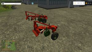 Vogel Noot M950 2B and 3B plows pack