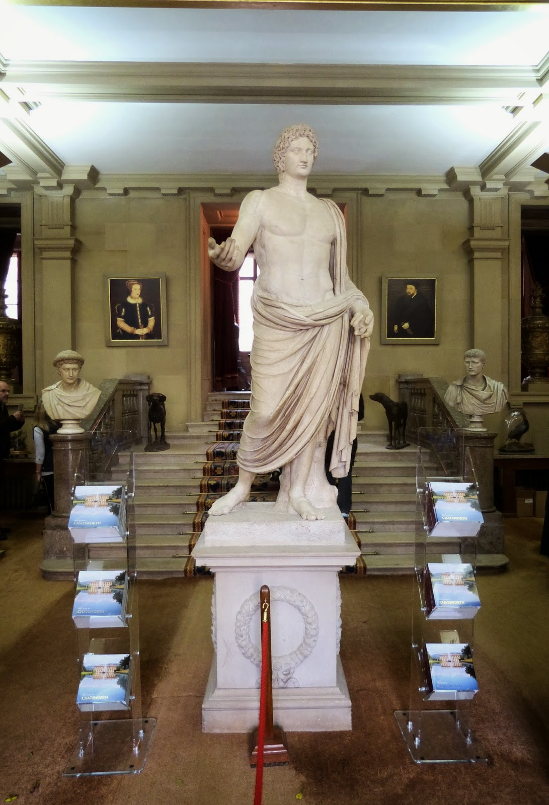 The North Entrance Hall, Chatsworth