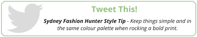 https://twitter.com/intent/tweet?text=@Syd_Fash_Hunter%20Style%20Tip%20-%20Keep%20things%20simple%20and%20in%20the%20same%20colour%20palette%20when%20rocking%20a%20bold%20print%20http://bit.ly/1QaAZwh