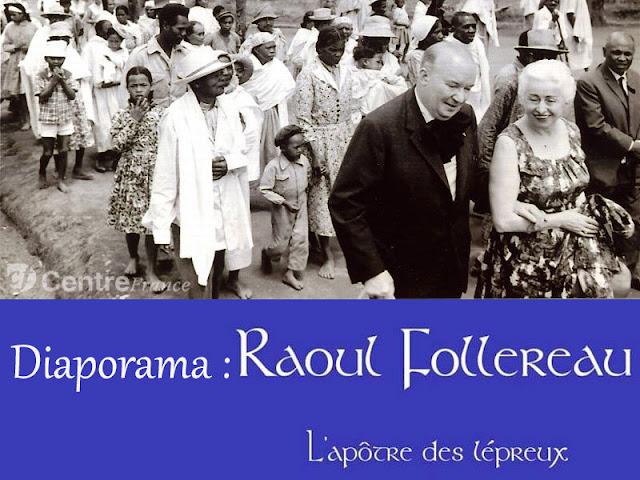 Diaporama et BD sur Raoul Follereau