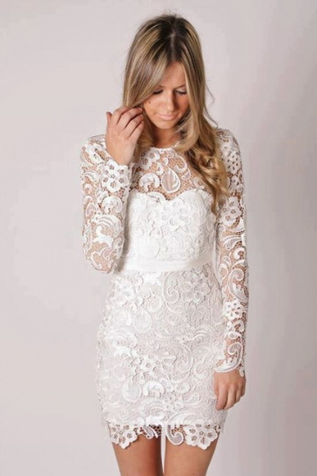 vestidos de novia para el civil elegantes