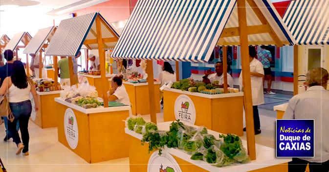 Caxias Shopping terá feira de produtos cultivados sem agrotóxicos dia 10 de março