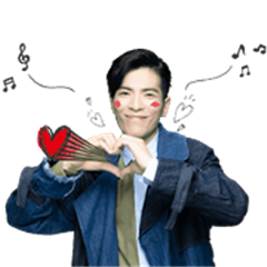 Jam Hsiao Animated Music Stickers