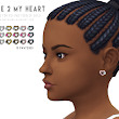 Onyx Sims: Close to My Heart Earrings