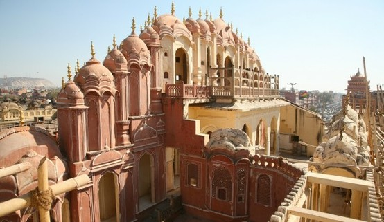 UN LUGAR: Jaipur, Palace of the Winds 1