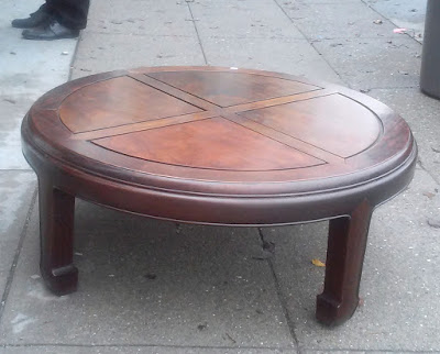 UHURU FURNITURE COLLECTIBLES SOLD Chow Style Diameter - Chow coffee table