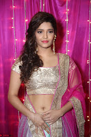 Ritika Sing in Golden Pink Choli Ghagra Cute Actress Ritika Sing ~  023.JPG