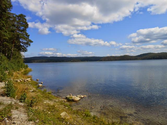 Побережье озера Аракуль