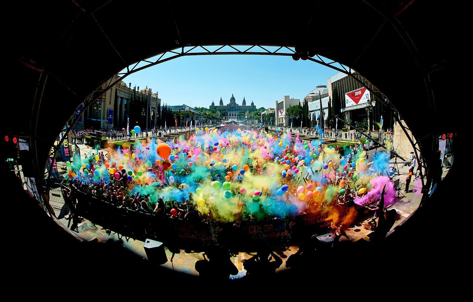 The Color Run by skittles llega a Barcelona el 2 de Octubre