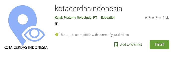 Download App KotaCerdasIndonesia