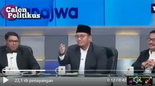 Detik-Detik Timses Petahana Dibuat Plonga Plongo di Mata Najwa
