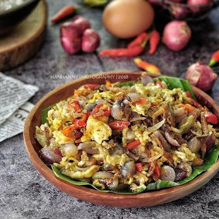 Ide Resep Masak Tumis Bawang Teri Telur