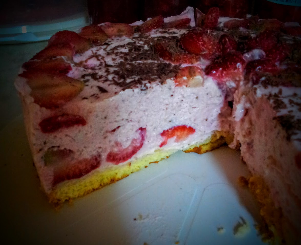 Babsi S Erdbeer Quark Sahne Torte Babsi S Rezepte Tipps Und
