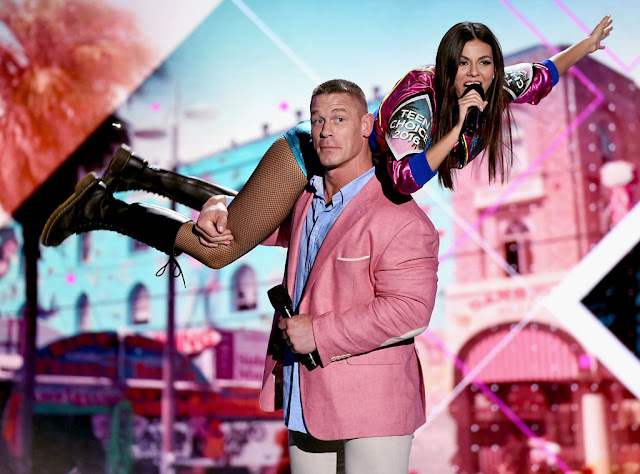John Cena and Victoria Justice's Best Hosting Moments From the 2016 Teen Choice Awards