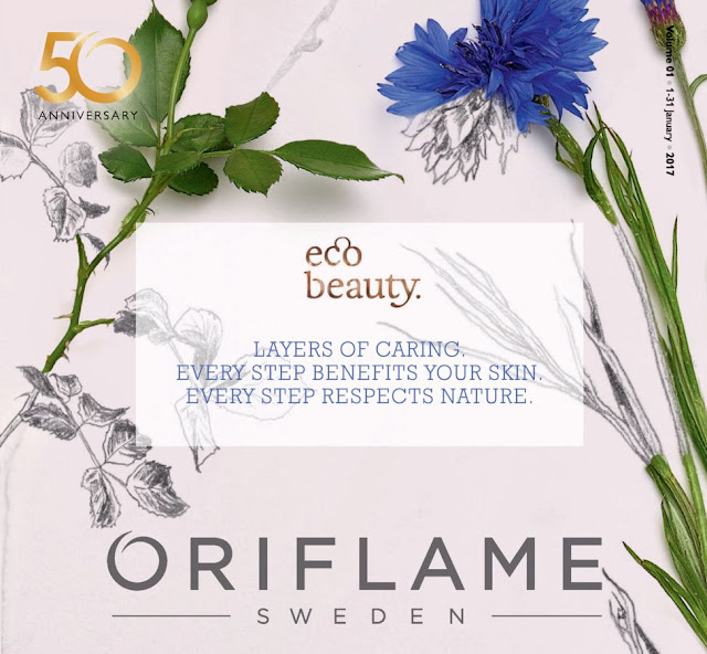 Oriflame Jan 2017 catalogue