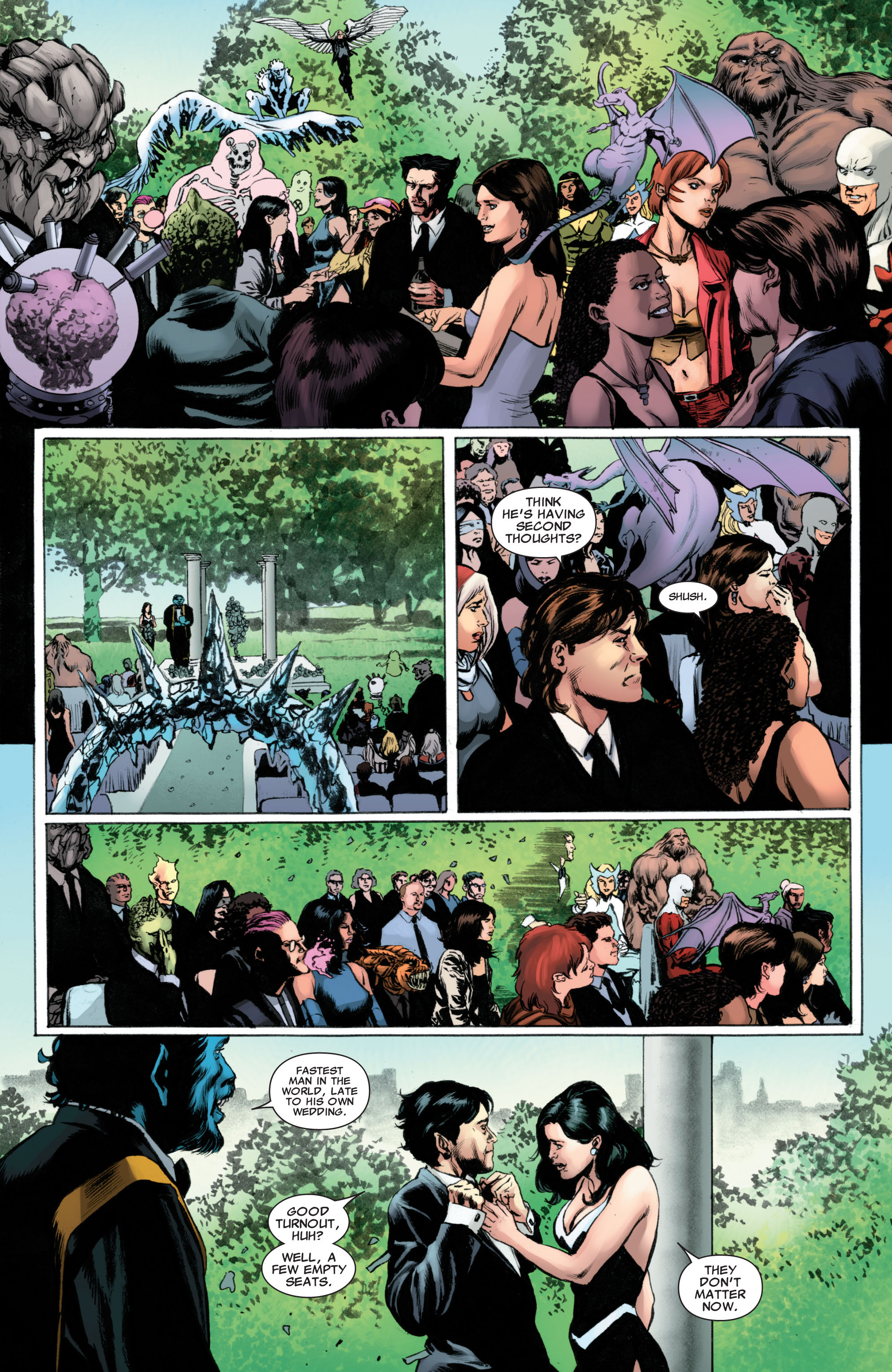 Read online Astonishing X-Men (2004) comic -  Issue #51 - 23