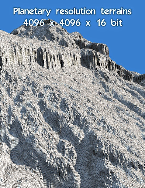 Daz Studio 3 Free 3d - Bryce 7.1 Pro High Resolution Terrains Set 2