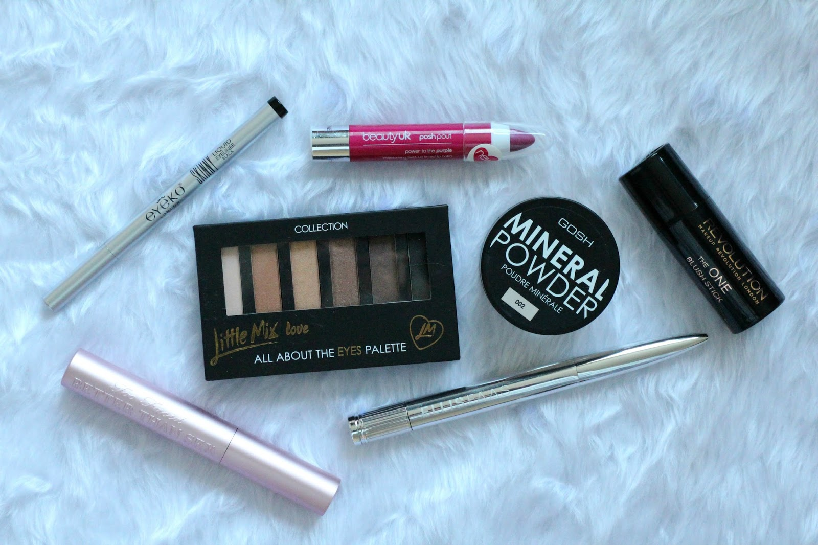 2014 Make-up Favourites Too Faced Eyeko Beauty UK Collection GOSH Makeup Revolution Ellis Faas