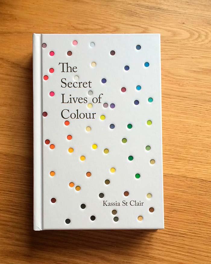 Libro recomendado. Las vidas secretas del color de Kassia St Clair