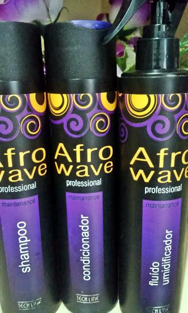 Achegue-se! Afro Wave - Tach Line - Datine Cosméticos