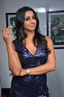 Sanjana looks happy in sparkling short Deep neck Purple Gown ~  Exclusive 35.JPG
