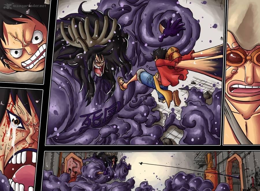 One Piece Ch 698: Doflamingo Appears