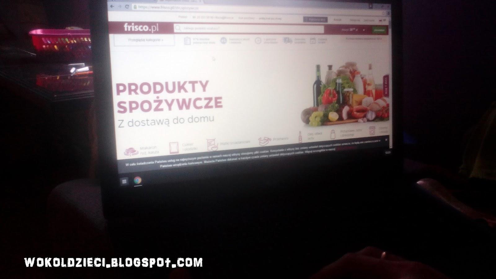 0a8f87437ebdba Kilka dni temu po raz pierwszy zrobiłam przez Internet zakupy spożywcze -  na frisco.pl - oto moje wrażenia!