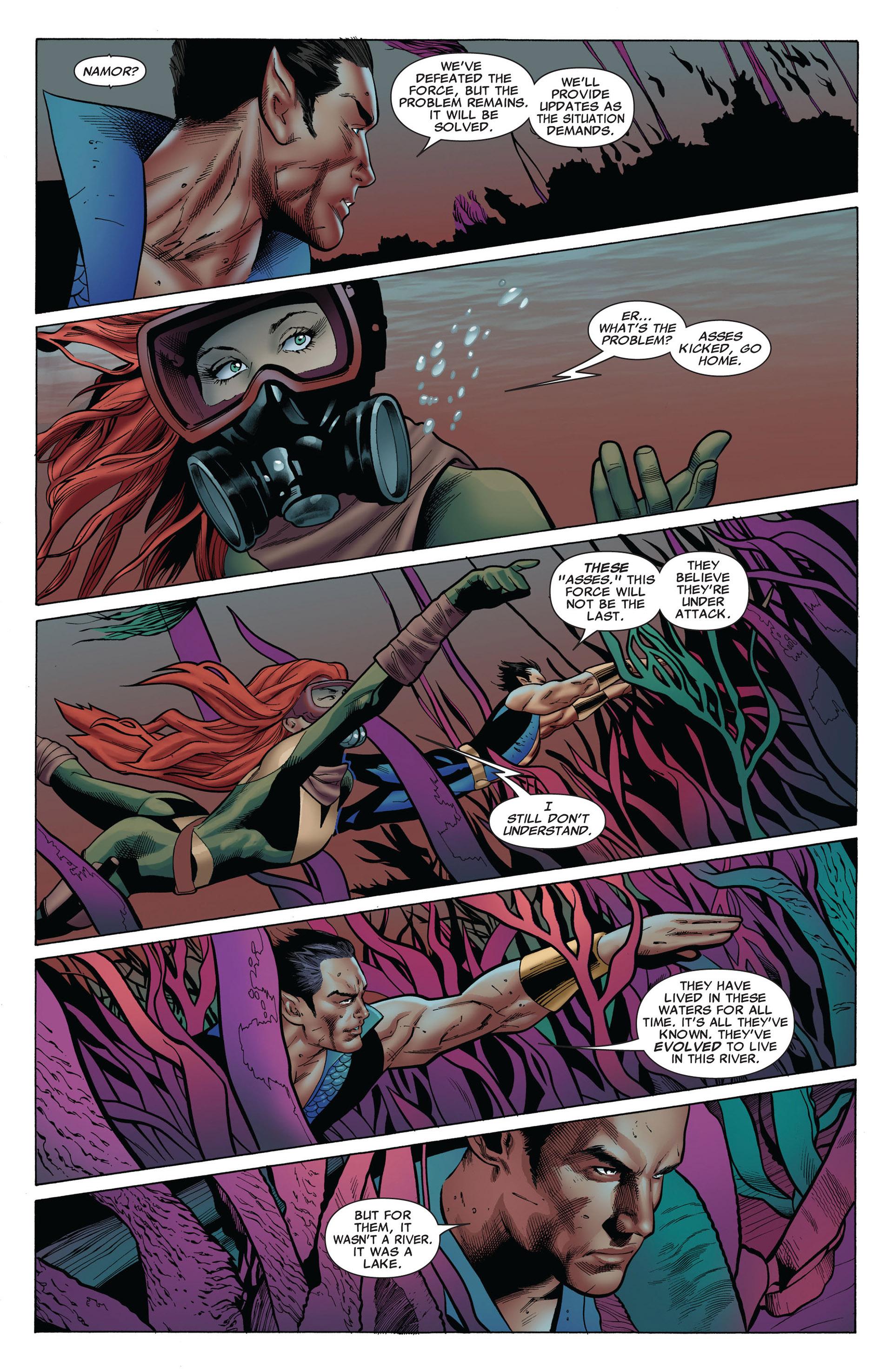 Read online Uncanny X-Men (2012) comic -  Issue #6 - 17