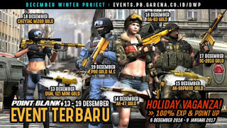 Event PB Garena 13 Desember 2016 - DWP (Desember Winter Project)