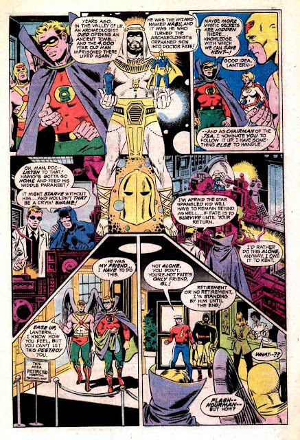 All Star Comics v1 #62 dc bronze age comic book page art by Wally Wood