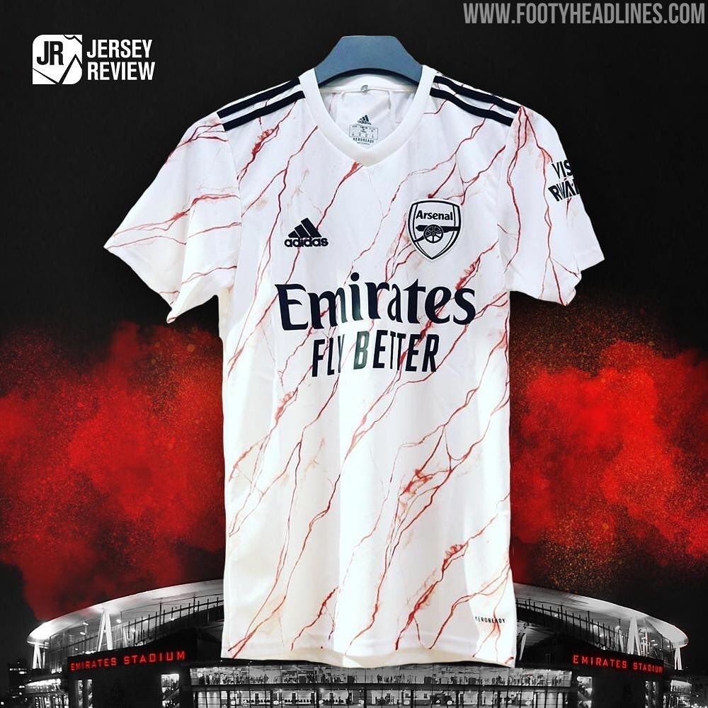 Arsenal 20-21 Away Kit Leaked - New Picture - Footy Headlines