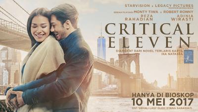 """Daftar Kumpulan Lagu Soundtrack Film Critical Eleven (2017)"""