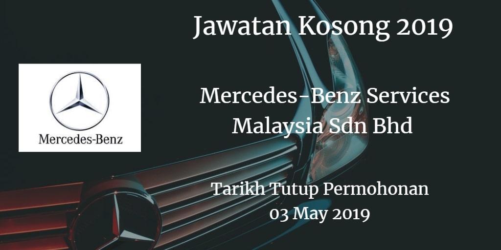 Jawatan Kosong Mercedes-Benz Services Malaysia Sdn Bhd 03 May 2019