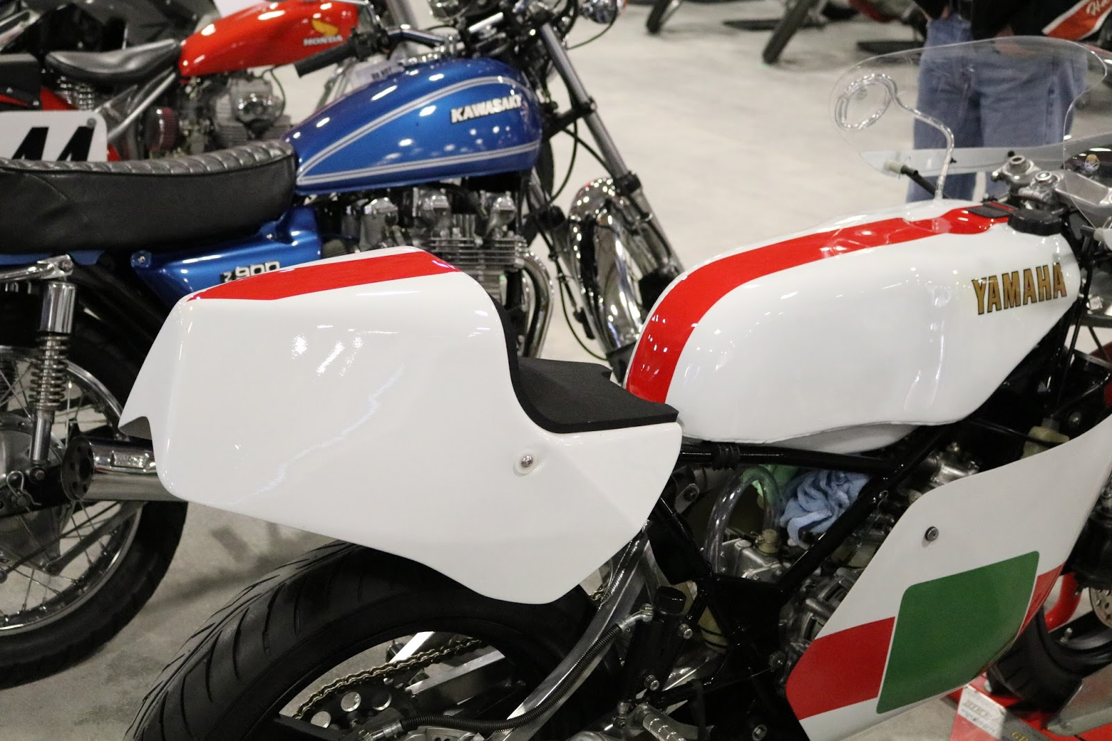 1982 yamaha tz250j road racer sold for 15 000 at the 2017 mecum las vegas motorcycle auction