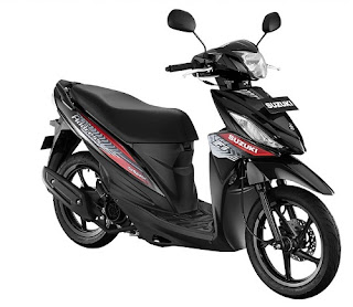 Suzuki Address Warna Titan Black
