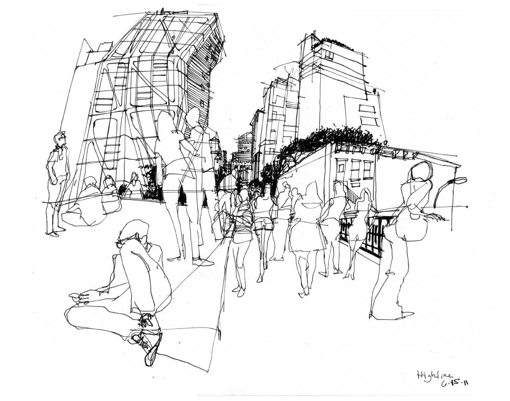The High Line | Urban Sketchers Vermeer Tx S Wiring Diagram on