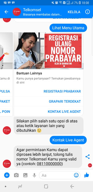 Solusi Alternatif Registrasi Telkomsel Jika Gagal 2