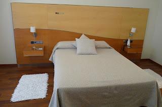 Nuestra habitación en el Hotel Rull.