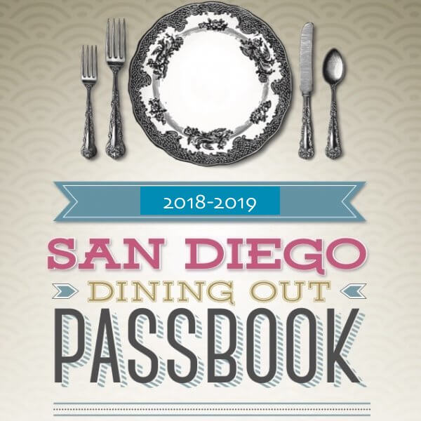 Save $60 on your DiningOut SD Passbook and enjoy 2-for-1 dining at more than 70 spots!