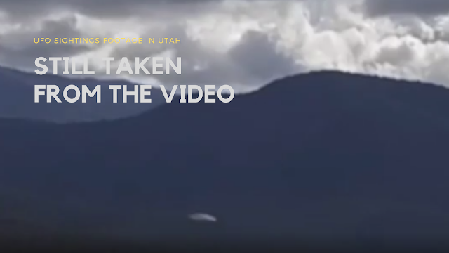 Pro documentary film makers catch a UFO on one of their cameras while shooting stunning mountainous regions and locations for documentary in Utah.