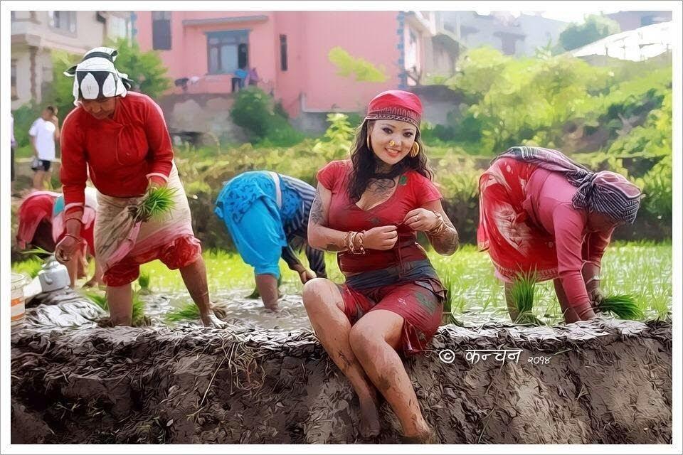 Folk Singer Model Jyoti Magar Hot Photos - Nepali Model
