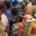 WIFE OF THE PRESIDENT OF THE FEDERAL REPUBLIC OF NIGERIA, MRS. AISHA MOHAMMADU BUHARI VISITS IDPs IN BENUE STATE, DONATES RELIEVE MATERIALS