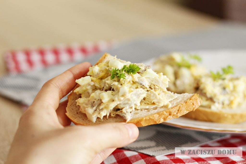 Pasta z wędzonej makreli - przepis
