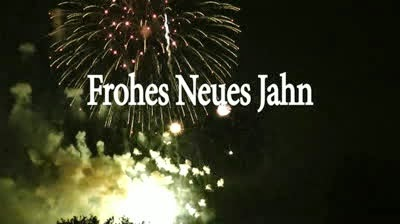 Happy New Year 2017 in German, Greetings, Images, Wishes in German