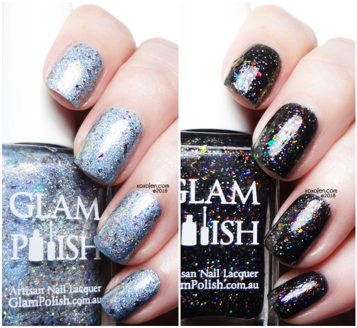 xoxoJen's swatch of Glam Polish August Limited Edition Fan Group Exclusives