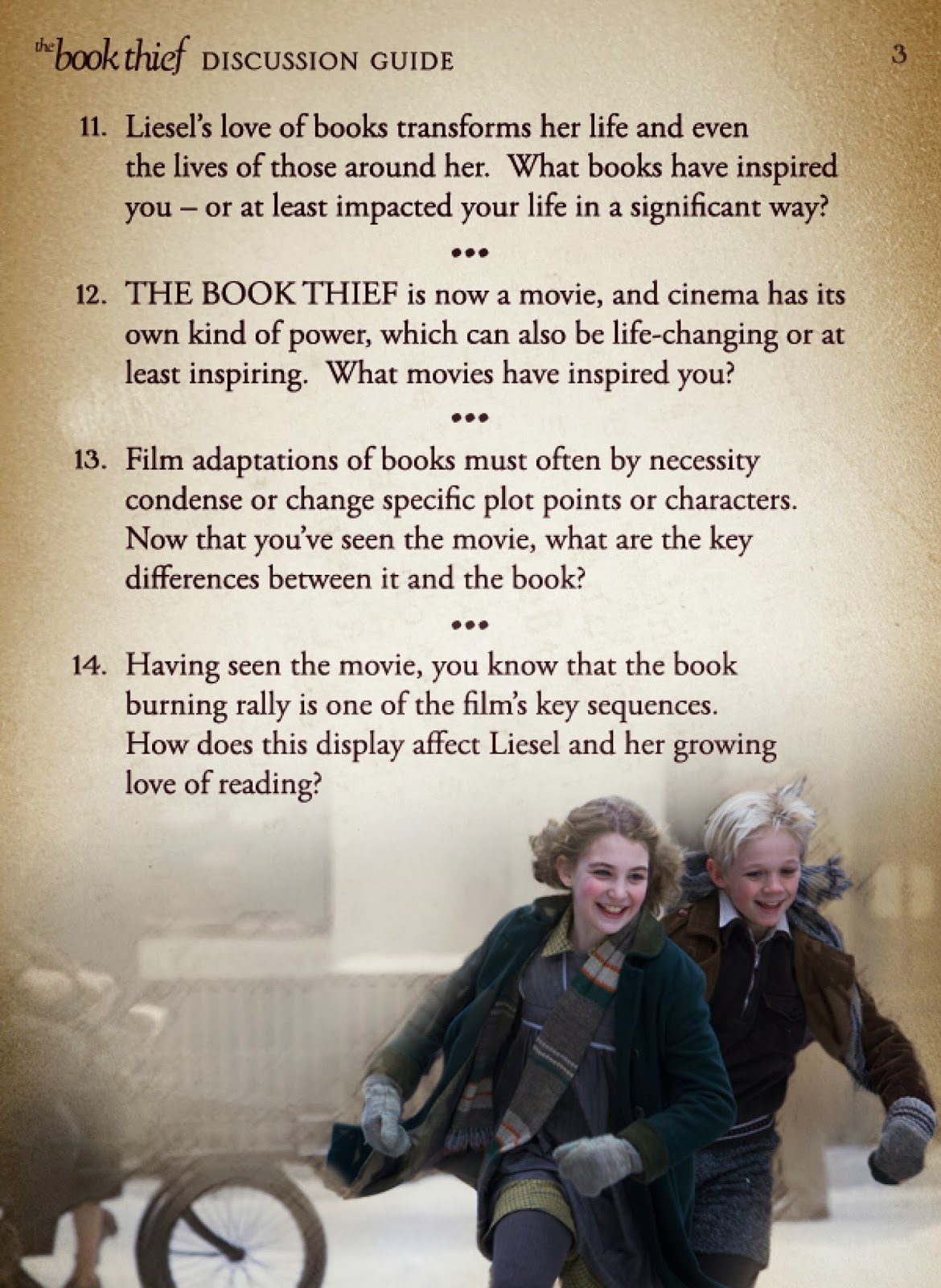 Stacy Tilton Reviews The Book Thief On Blu Ray Dvd March